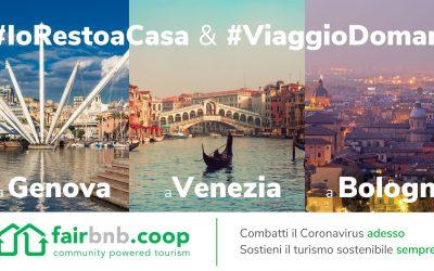 COVID-19 – Fairbnb.coop per l'Italia, il turismo in Italia al servizio della comunità.