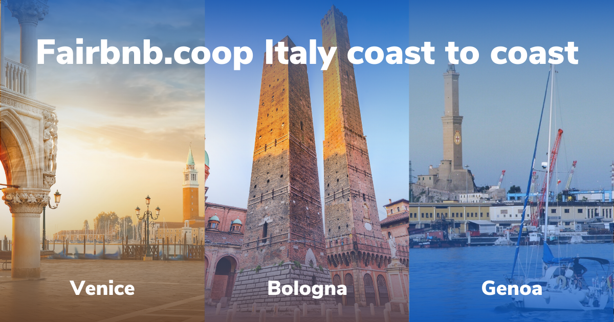 Fairbnb.coop - Italy coast to coast