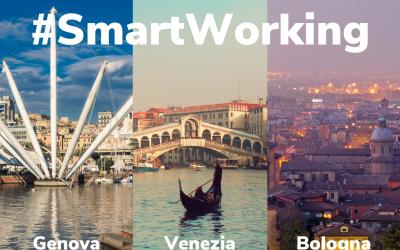 Smart working in una casa vacanze a Venezia, Genova o Bologna.