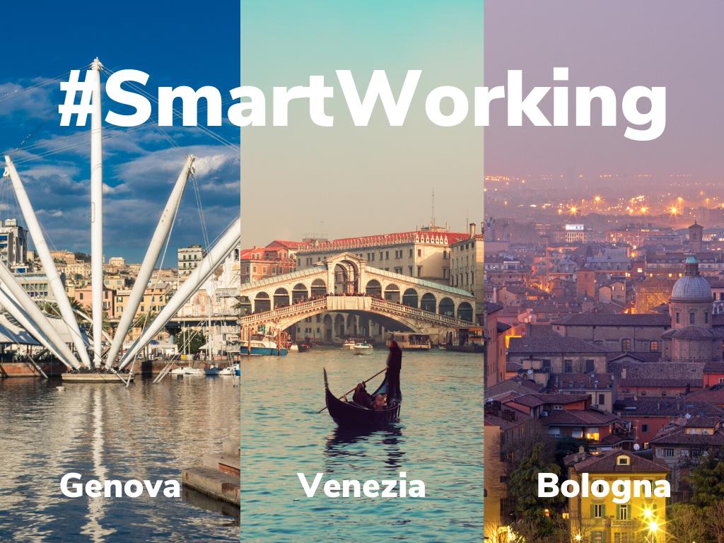 smart working, in una casa vacanze a Venezia, Genova o Bologna
