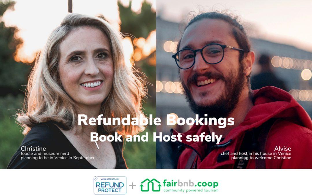 Safe travels: enjoy Fairbnb.coop's unique booking refund solution