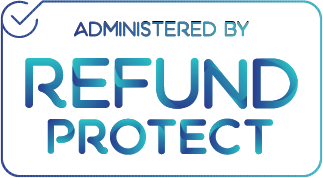 REFUND PROTECT LOGO @ Fairbnb.coop