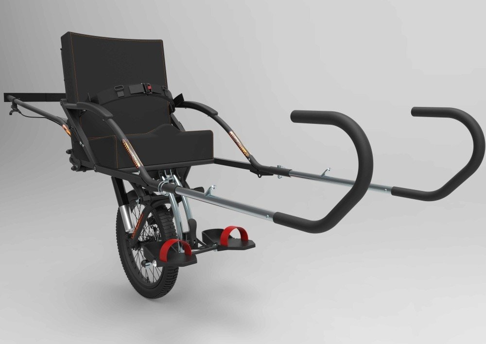 A trekking wheelchair for accessible tourism