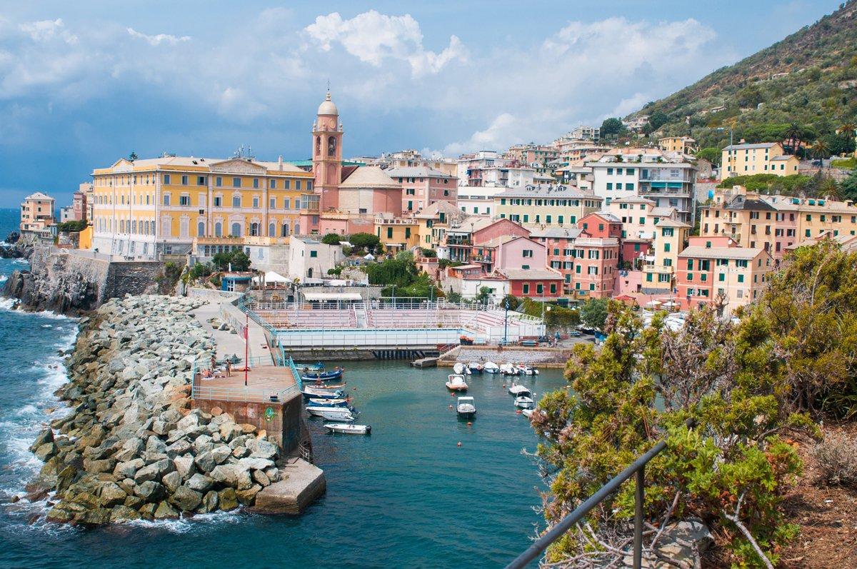 porticciolo di Genova Nervi