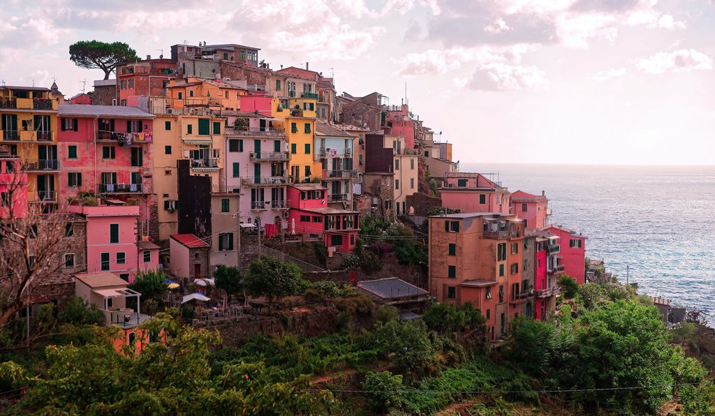 Corniglia Italian Riviera Ligure