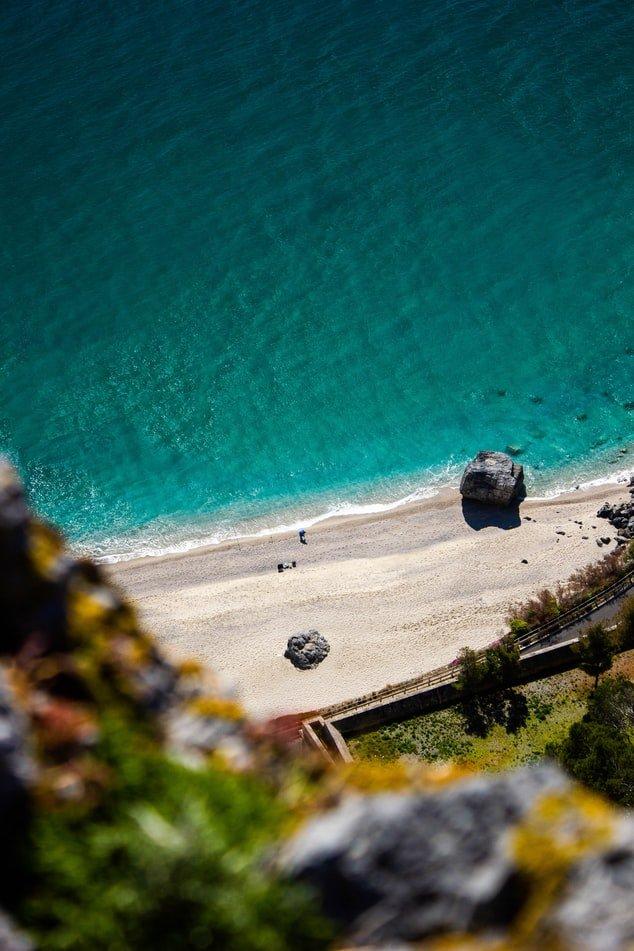 beach Italian Riviera Ligure