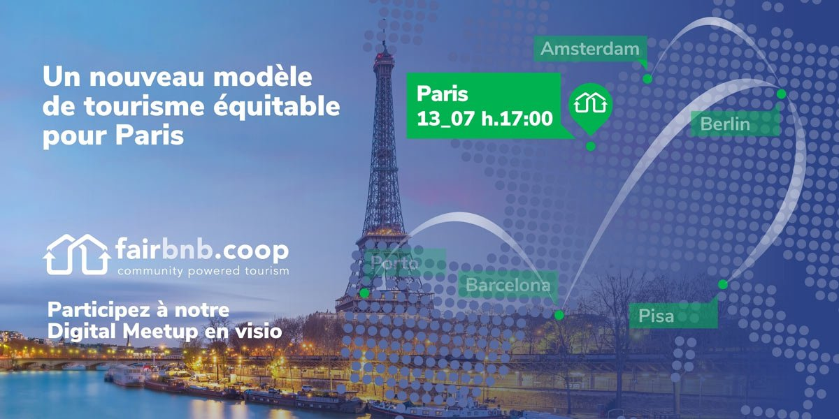 Digital Meetup for sustainable tourism in Paris