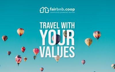 #TravelFair è la proposta di Fairbnb.coop per l'Estate 2021